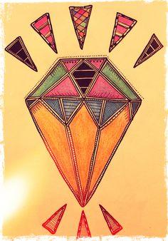 diamante.  diamond.