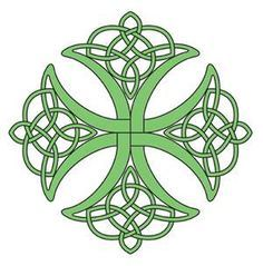 Love this celtic knot. It's the right balance of scrollwork and simplicity