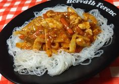 China Food, Special Recipes, Wok, Macaroni And Cheese, Cake Recipes, Spaghetti, Food Porn, Food And Drink, Meat