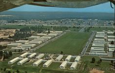 Just the way we remember it. Aerial photo of Fort Gordon, Georgia. I went to basic training and AIT here