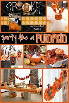 Party Like A Pumpkin Party