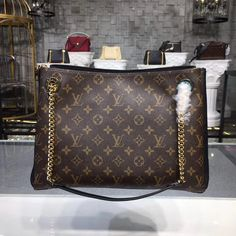 ee Discover our latest Louis Vuitton Surene MM Monogram Noir. Louis Vuitton Totes, Louis Vuitton Handbags, Louis Vuitton Monogram, Vuitton Bag, Handbags On Sale, Luxury Handbags, Purses And Handbags, Crossbody Bag, Tote Bag