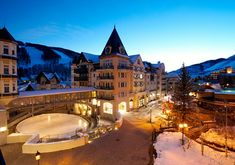 We've an eclectic collection of luxury ski hotels, lodges and resorts in the finest skiing locations in the world. Vail Colorado, Colorado Ski Resorts, Best Ski Resorts, Best Hotels, Lodge At Vail, Vail Ski Resort, Vail Mountain, Vail Village, Viajes