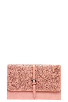 pink patterened embroided cluth party stlye summer bag boohoo chic