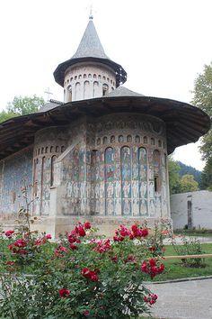 Voroneț Monastery - Voroneț, Jud. Suceava, Romania