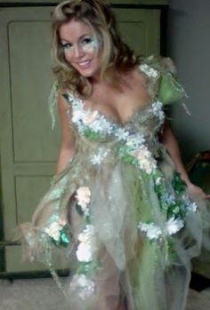 DIY fairy costume... IM THINKING mother nature though