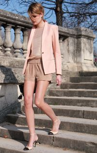 Maje. I almost bought this pink blazer from Maje.