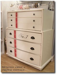 White And Cream Painted Furniture