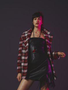 #Sisley #Sisleyfashion #FW2017 #woman #collection #fashion #trend #rockclub #dresses #coats #red #black