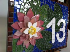 Mosaic Designs, Mosaic Patterns, Tile Art, Mosaic Art, Mosaic Flowers, Christmas Images, Lotus, Artworks, Projects To Try