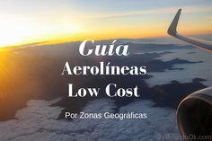 Guia aerolineas low cost por zonas geograficas