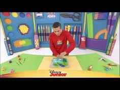 Art Attack #1: Lek med farger - Disney Junior Norge - YouTube