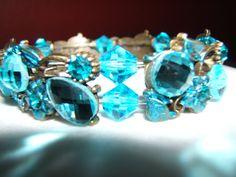 Stunning Aqua Bracelet