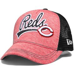 Cincinnati Reds Womens Shorty Swoop 9FORTY Adjustable Cap by New Era