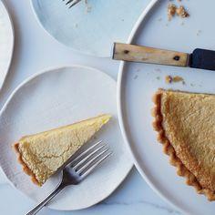 Lazy Mary's Lemon Tart | A whole Meyer lemon goes into this improbably ...