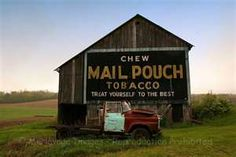 Have always thought these mail pouch tobacco barns were interesting.