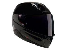 NEXX XR1R PLAIN FACE COMPOSITE MOTORCYCLE HELMET LID IN BLACK #Nexx #FullFace