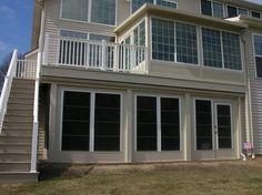 4 season porch under a deck - Google Search