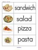 Restaurants Theme Activities for Preschool PreK and Kindergarten  (Use For RESTAURANT lessons)