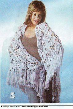 scialli | Hobby lavori femminili - ricamo - uncinetto - maglia