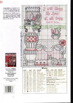 Schema punto croce Timeless Seasons 04