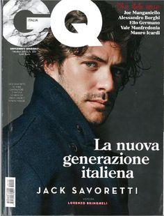 Jack Savoretti - GQ Italia / cover - page 1