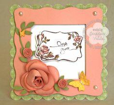 A Framed Rose for Mom