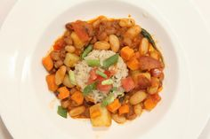 stone curry with brown rice #LetsMove