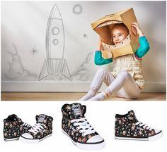 British Knights  Kids Dee Textile High-Top Sneaker