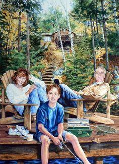"""Vaizdo rezultatas pagal užklausą """"realistic painting of people"""""""