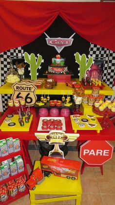 Awesome Disney Cars Birthday Party See More Ideas At CatchMyParty