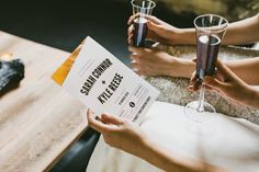 INDUSTRIAL WEDDING STYLING FROM HOPE & LACE | MODERN MONOCHROME COPPER STATIONERY INVITATION