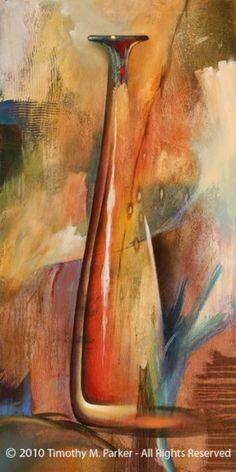 Modern Still Life Painting - Artist Tim Parker Abstract Watercolor, Abstract Art, Modern Art, Contemporary Art, Still Life Oil Painting, Still Life Art, Artist Painting, Figurative Art, Painting Inspiration