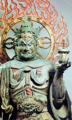 浄瑠璃寺 四天王像 多聞天