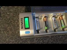 Novete Universal Baattery Charger - YouTube