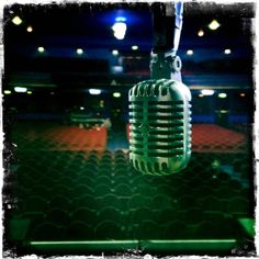 Danny's microphone for 'RED' epic!