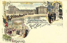 0004 ~ Versailles Palace ~ Souvenir des fetes des Souverains