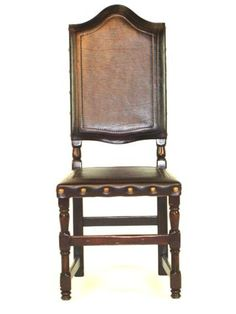 Leather Madrid Dining Chair - Mecox Gardens