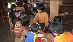 After the storytelling sessions for children began at the Ura READ Center in rural Bhutan, Thinley Pelzom, age 8, became one of the regular visitors to the library. Read more: http://readglobal.org/our-work/read-bhutan/stories-of-empowerment/peer-to-peer-storytelling