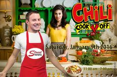 """Come join Street Toyota at the Tri-State Open Chili Championship today!  """"Everyone wants to know what goes into our award-winning recipe"""" says Josiah Krulik. """"You'll have to come and check it out for yourself!""""  The Street Auto Group will be firing up their pots Saturday for the annual Tri-State Open Chili Championship, which opens at 11 a.m. Saturday in the Rex Baxter Building on the Amarillo Tri-State Fairgrounds, 3301 S.E. 10th Ave.  Benefits for Make-A-Wish North Texas. Make A Wish, How To Make, Chili, Toyota, Pots, Texas, Group, Recipe, Street"""