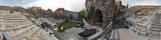 Il Teatro Romano di Catania, finalmente visibile a 360°, grazie alle invasioni digitali!