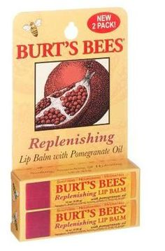 Burt's Bees Pomegranate Lip Balm My favorite burts
