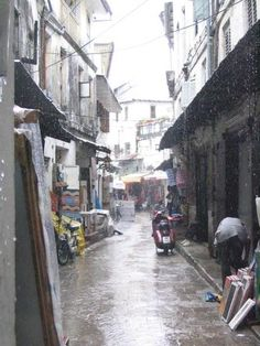 Stone Town of Zanzibar, was once one of Africa's most important cities for trade, and now it is one of Africa's top tourist destinations.    http://whc.unesco.org/en/list/173