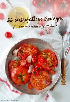 22 ausgefallene Beilagen für die nächste Grillparty - 22 extraordinary side dishes for the next BBQ
