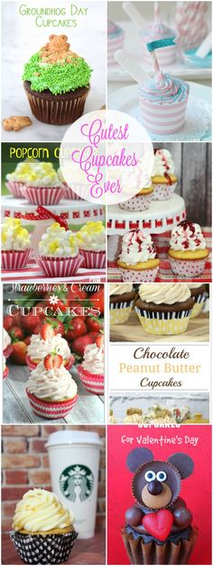 Cutest Cupcakes Ever Baking Cupcakes, Yummy Cupcakes, Cupcake Cookies, Cupcake Cupcake, Cupcake Towers, Cupcake Images, Cupcake Ideas, Homemade Cupcake Recipes, Dessert Recipes