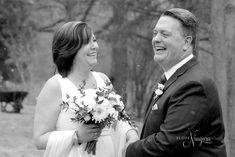 Winter wedding laughs at Elope Niagara Niagara Falls Wedding, Winter Wonderland Wedding, Chapel Wedding, Christmas Themes, Christmas Wedding, Weddings, Wedding Dresses, Bridal Dresses, Bridal Gowns
