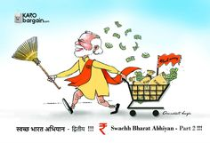 Awesome move for #SwachhBharatAbhiyan by @PMOIndia  against #BlackMoney and Corruption #ModiFightsCorruption #DeMonetisation