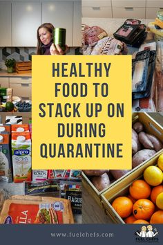 Healthy food to stack up on during quarantine or isolation! - Fuel Chefs - Fuel your body Lists To Make, How To Stay Healthy, Freezer, Pantry, Healthy Lifestyle, Healthy Eating, Healthy Recipes, Easy, Food