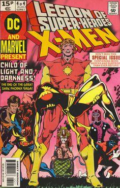 Legion of Super heroes and X-Men