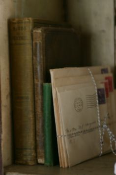 books and old letters